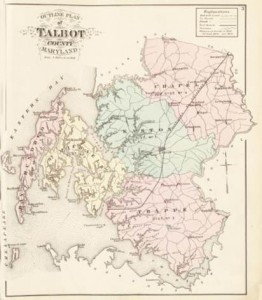 Lake, Griffing, & Stevenson's Illustrated Atlas of Talbot & Dorchester Counties, Maryland