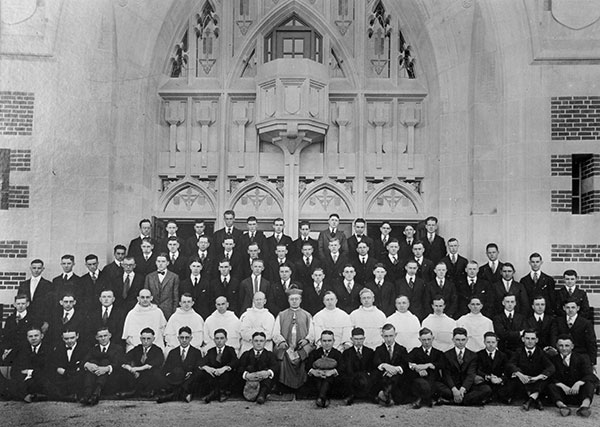 0-1_Opening_Day_Sept_18_1919_picture_Hickey_Faculty_Student_57829-(1)