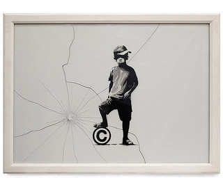 Photo by Flickr user Duncan Hull of a Banksy piece. Creative CommonsAttributionNonCommercialShareAlikeLicense.
