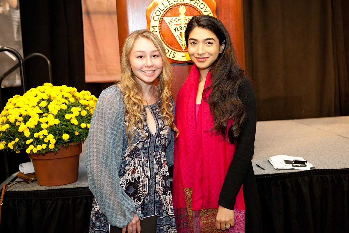 Presidentís Opening remarks & Keynote Address by Shiza Shahid†Shannon Moore '20 Common Reading Program essay contest winner