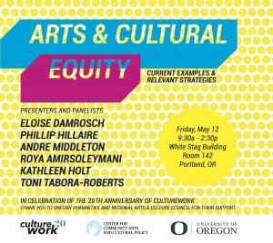 Arts & Cultural Equity forum