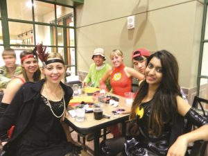 On Sat. Oct. 26, Centre students donned costumes for the October CC After Dark program.