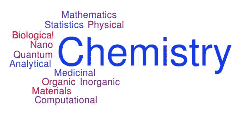 Chemistry- a variety of areas to focus on