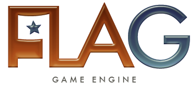 The logo image for the EGC's FLAG engine