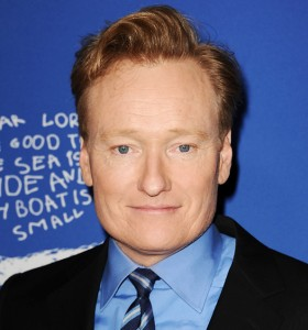 CULVER CITY, CA - DECEMBER 04: Conan O'Brien attends Children's Defense Fund's 24th annual Beat The Odds Awards at The Book Bindery on December 4, 2014 in Culver City, California. (Photo by Jason LaVeris/FilmMagic)