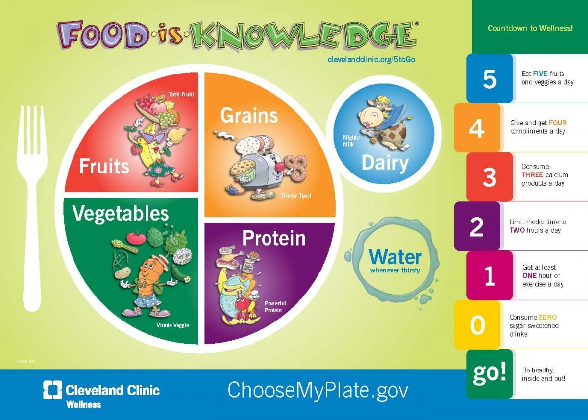 Educate to lower the rate food fitness and fun my plate food diagram httpletsmovesitesletsmovefilesoh1g pooptronica Gallery