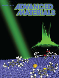 Si doped graphene----Advanced Materials Cover-Simin