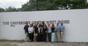 With Penn State University colleagues at the University of the West Indies, Jamaica (June, 2015).