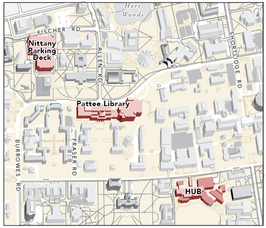 Tailgate 2014 Map