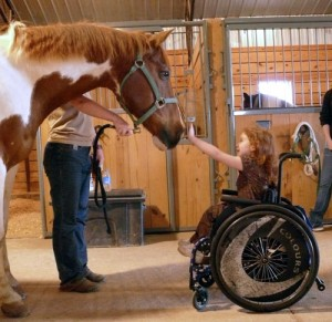 kid horse therapy