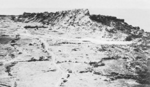"""Mabuni Hill, or """"Hill 89"""", the final command post of the Japanese army in Okinawa"""