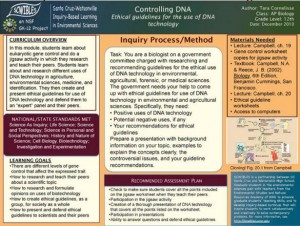 controlling DNA