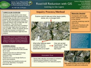 road-kill reduction with GIS
