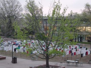 Campus Clothesline Project